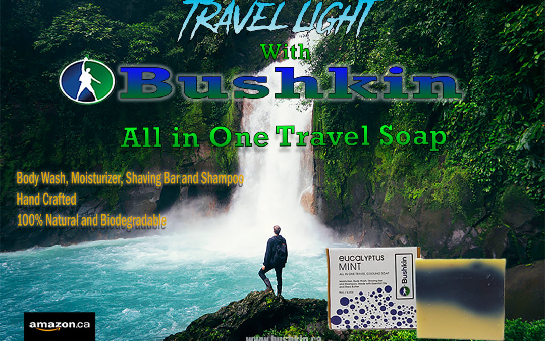 Bushkin's All in One Travel Soap.
